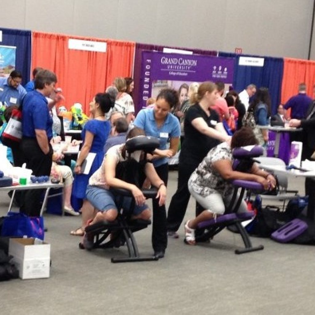 Convention Massage as a Means of Marketing Your Events