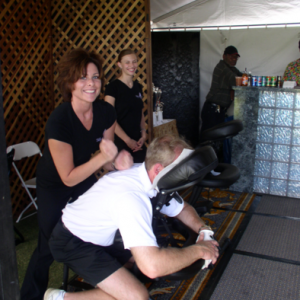 convention massages for events in las vegas Massage for Promotions chair massage convention massages booth exhibit