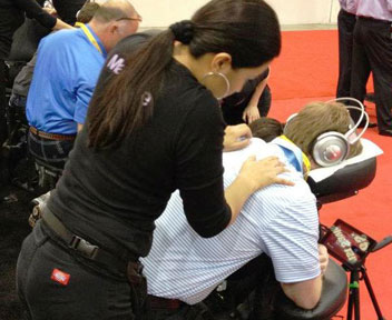 convention massages offering free massages for events